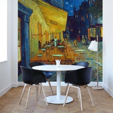 Fotomurale  Van Gogh - Terrazza del Caffè di sera