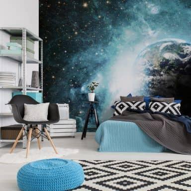 Papier peint photo - Dans une lointaine galaxie