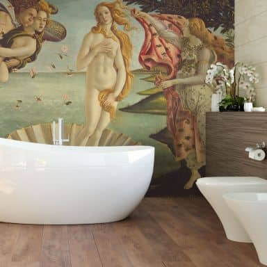 Botticelli - Birth of Venus - Photo Wallpaper