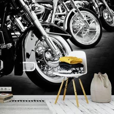 Fototapete Motorcycle Wheels