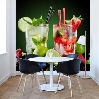 Fototapete Cocktail Hour - 288x260 cm