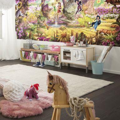 Papier peint photo - papier - Disney Fairies Forest