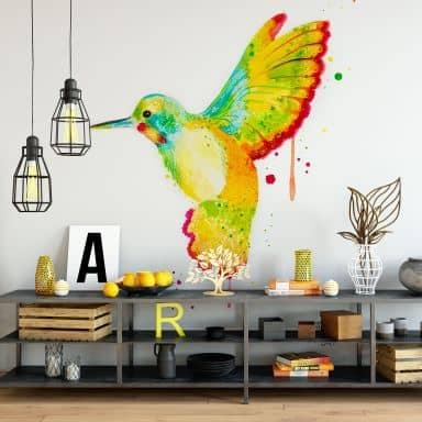 Buttafly - Hummingbird - Photo Wallpaper