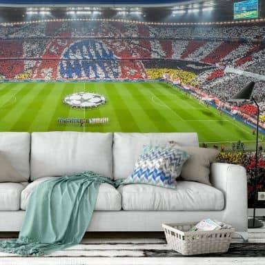 Fototapete Vliestapete Bayern München Stadion Choreo Immer weiter
