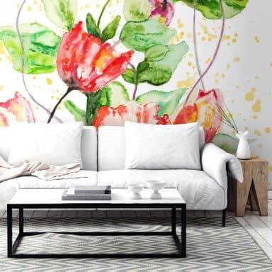 Toetzke - Garden Flowers - Photo Wallpaper