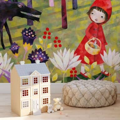 Photo Wallpaper Blanz – Little Red Riding Hood