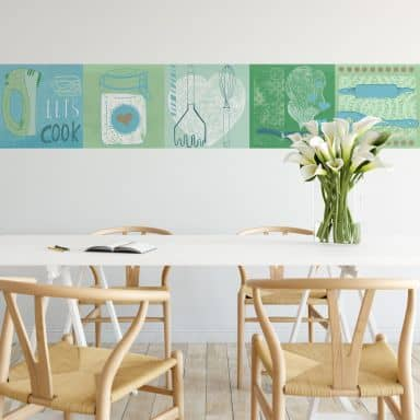 Fotomurale Loske - In Cucina – Panorama