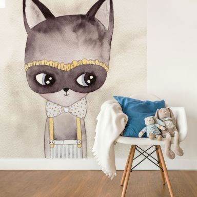 Photo wallpaper – Carnival Kitty