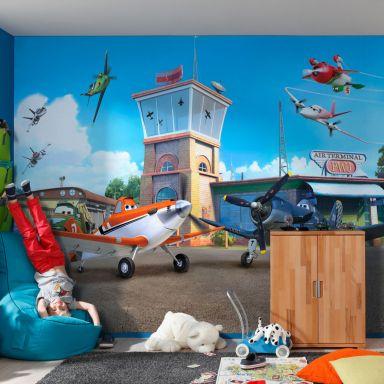 Papier peint photo - papier - Disney Planes Terminal