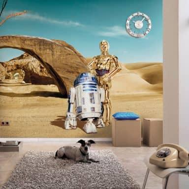 Papier peint photo - papier - Star Wars Lost Droids