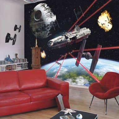 Papier peint photo - papier - Star Wars Millennium Falcon