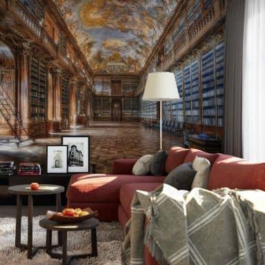Photo wallpaper Aurednik - Philosophical hall monastery Strahov