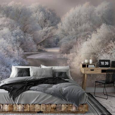 Papier peint photo Bela - Paysage hivernal