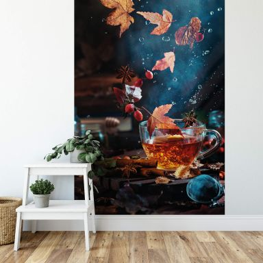 Fototapete Belenko - Autumn Tea - 144x260 cm