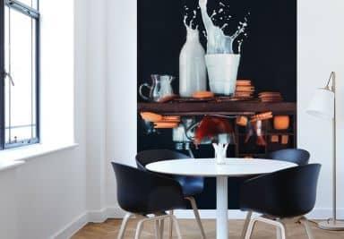 Moderne Kunst Keuken : Behang fotobehang kunst shop wall art.nl