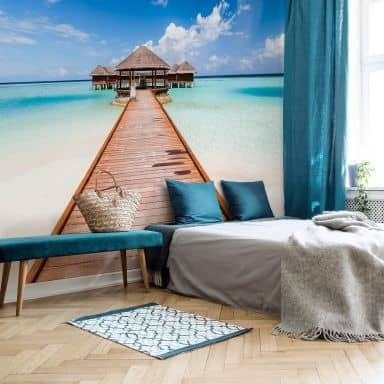 Fototapete Colombo - Der Weg ins Paradies