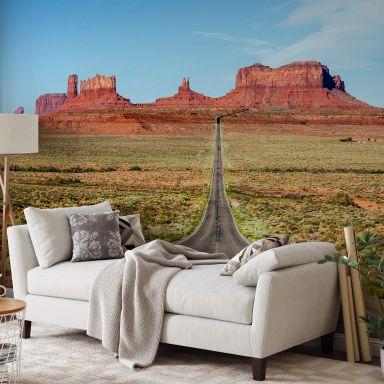 Fototapete Colombo - Monument Valley in Arizona - 384x260 cm
