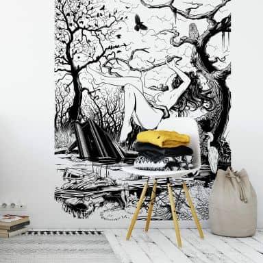 Photo Wallpaper Drawstore – Swamp Land