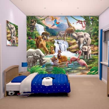 Fototapete kinderzimmer jungen  Kinderzimmer Tapete & Fototapeten für das Kinderzimmer | wall-art.de