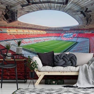 Fototapete Bayern München Stadion Mia san mia