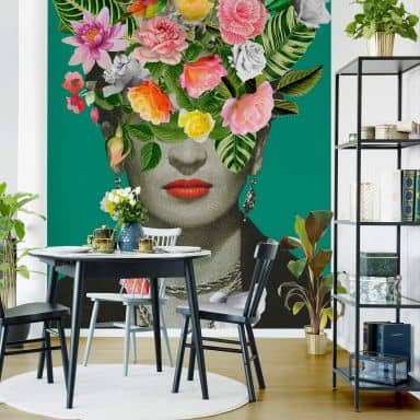 Photo Wallpaper Feldmann - Frida Floral