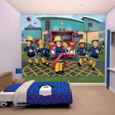 Feuerwehrmann Sam Fanshop: Wandtattoos & Fototapeten | wall-art.de