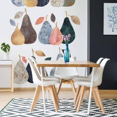 Photo Wallpaper Fredriksson - Perfect Pears