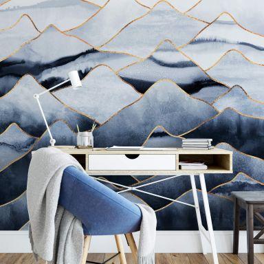 Fototapete Fredriksson - Die Berge