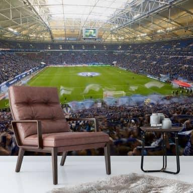 Fotobehang Schalke 04 Stadion (336 x 260 cm)