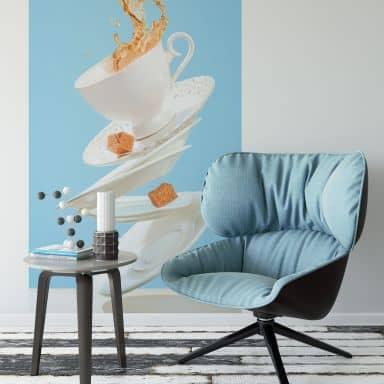 Fototapete Belenko - Dancing Coffee