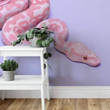 Fototapete Fuentes - Pink Snake - 192x260 cm