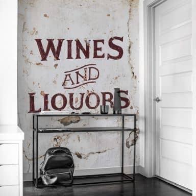 Fototapete Hugonnard - Wines and Liquors