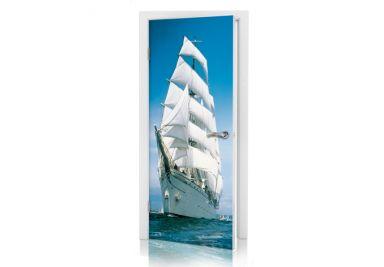 Türtapete Sailing Boat