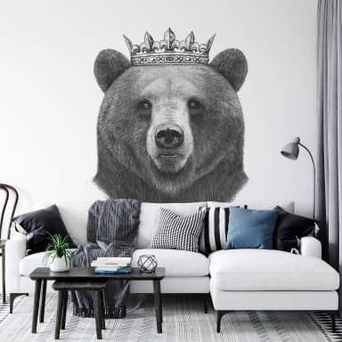 Fototapete Korenkova - King Bear