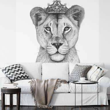 Fototapete Korenkova - The Lioness Queen