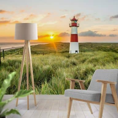 Photo Wallpaper – Lighthouse at Sylt