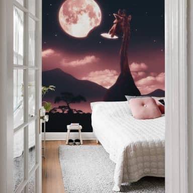 Fototapete Loose - Tasty Moon