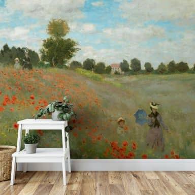 Fototapete Monet - Mohnfeld bei Argenteuil - 336x260 cm