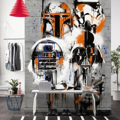Fotobehang Star Wars Celebrate the Galaxy
