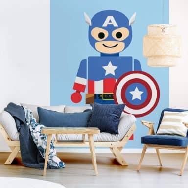 Photo Wallpaper Gomes - Captain America toys