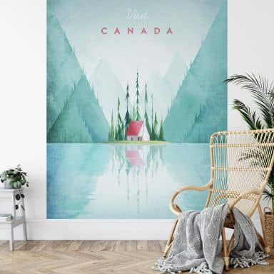 Fototapete Rivers - Kanada