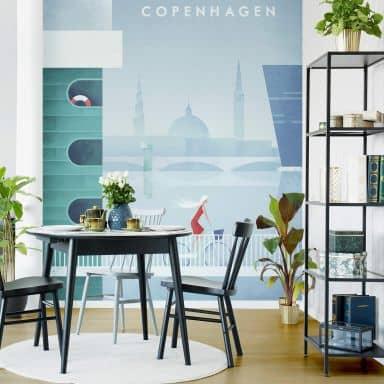 Fototapete Rivers - Kopenhagen