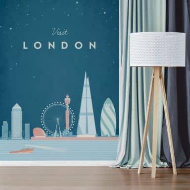 Fototapete Rivers - London