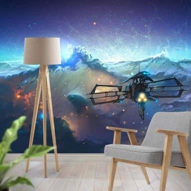 Photo Wallpaper Aerroscape - Space