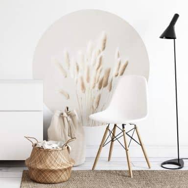 Behangcirkel 1X Studio - Dried Grass