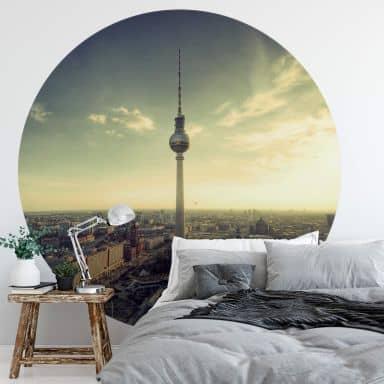 Fototapete Berliner Fernsehturm - Rund