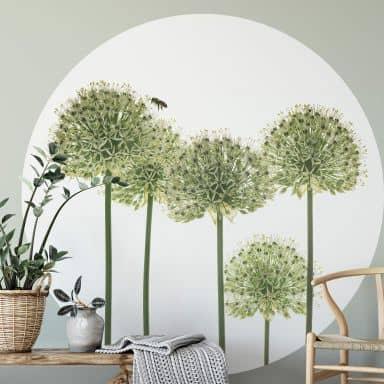 Behangcirkel Kadam - Flora Ornaments