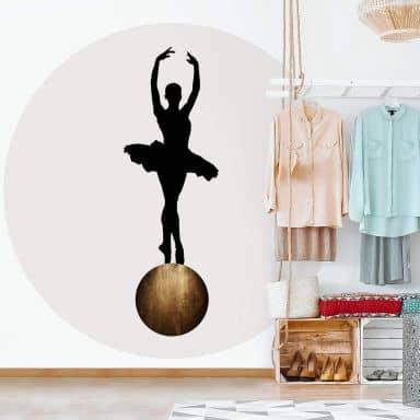 Behangcirkel Kubistika - Prima Ballerina