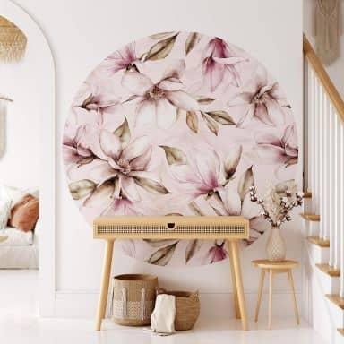 Behangcirkel UN Designs - Soft Magnolia