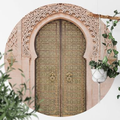Fototapete Sisi & Seb - Moroccan Door - Rund